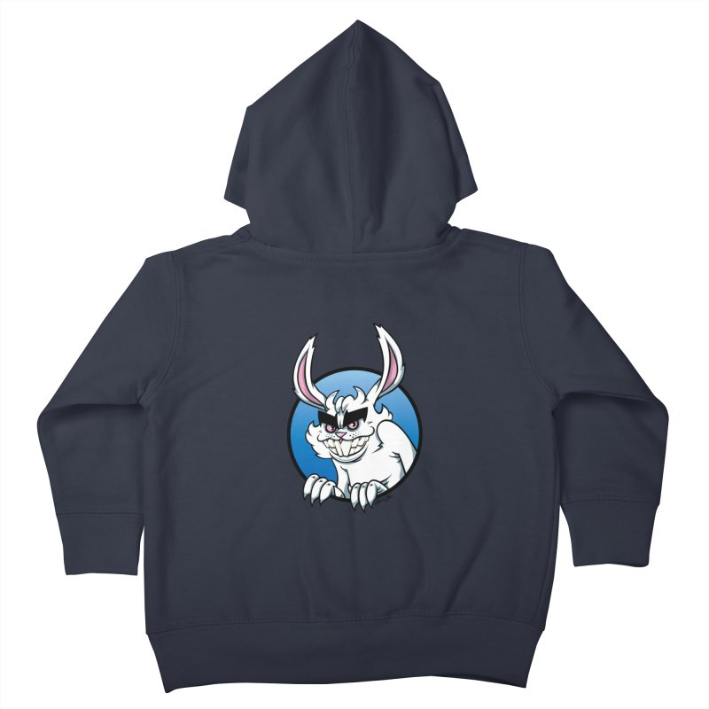 Bad Bunny Kids Toddler Zip-Up Hoody by bennygraphix's Artist Shop