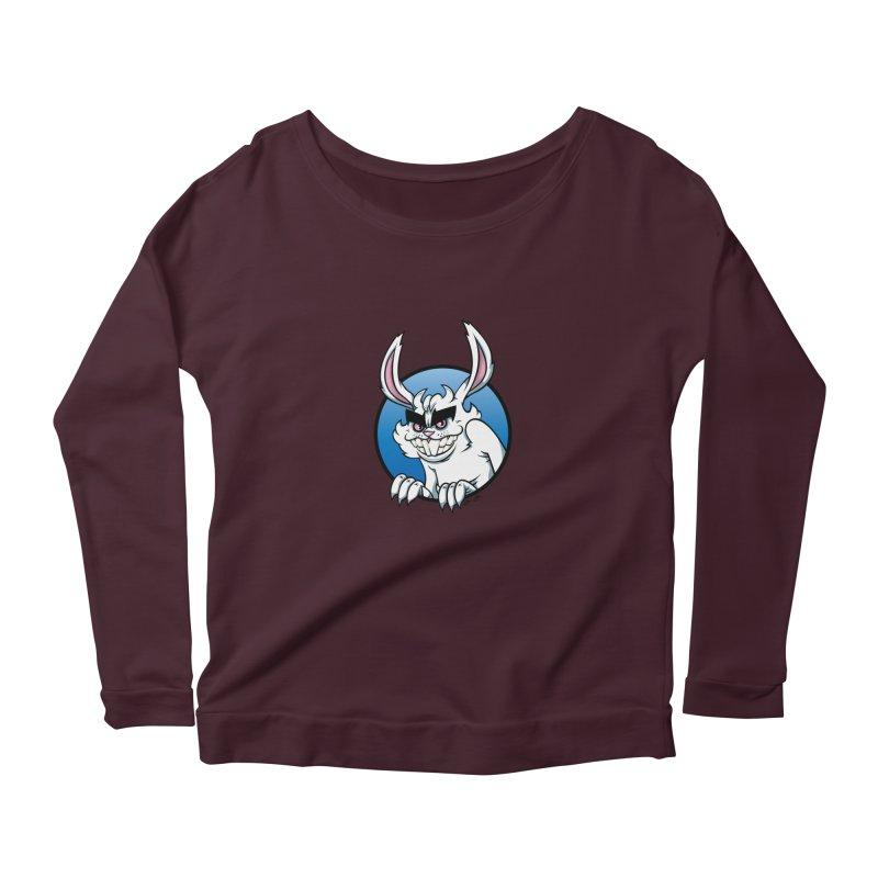Bad Bunny Women's Scoop Neck Longsleeve T-Shirt by bennygraphix's Artist Shop
