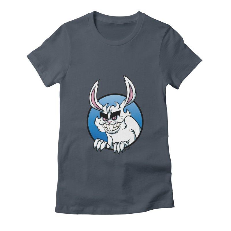 Bad Bunny Women's T-Shirt by bennygraphix's Artist Shop