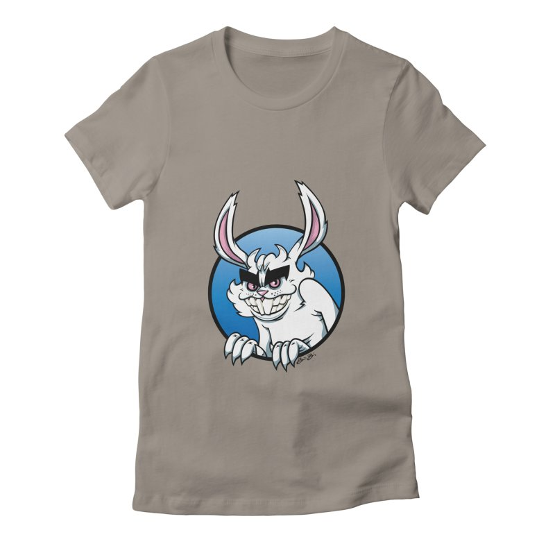 Bad Bunny Women's Fitted T-Shirt by bennygraphix's Artist Shop