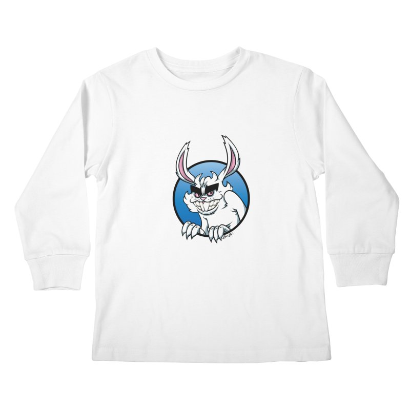 Bad Bunny Kids Longsleeve T-Shirt by bennygraphix's Artist Shop