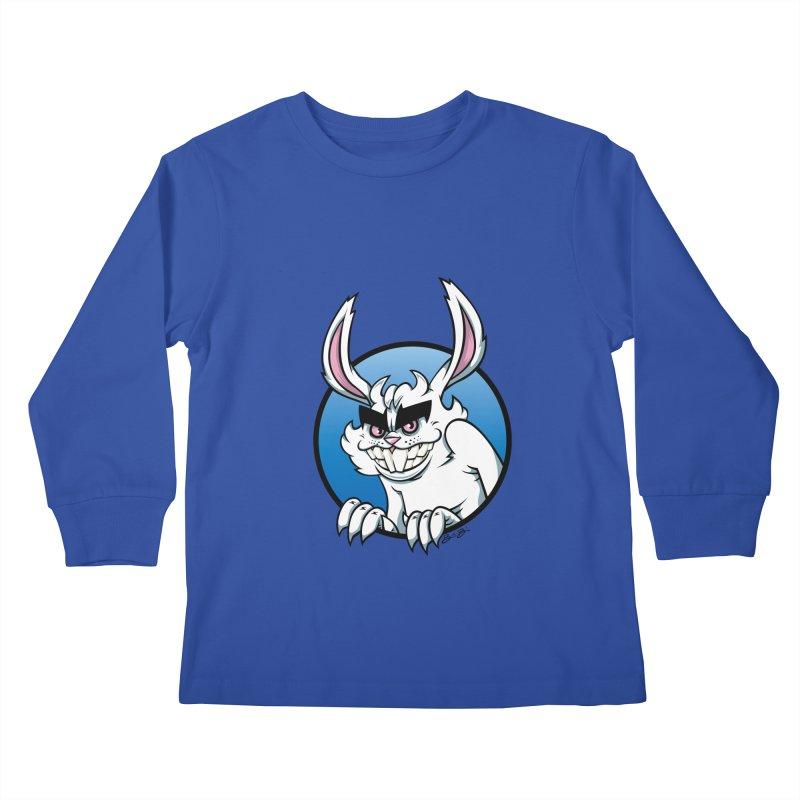 Bad Bunny Kids Longsleeve T-Shirt by bennygraphix's Artist Shop