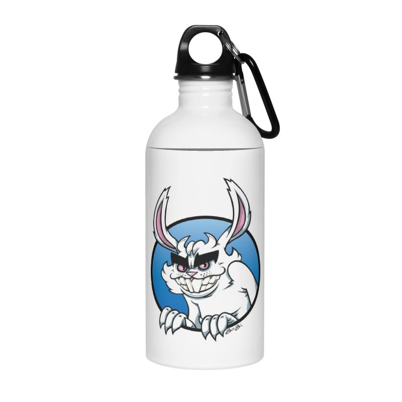 Bad Bunny Accessories Water Bottle by bennygraphix's Artist Shop