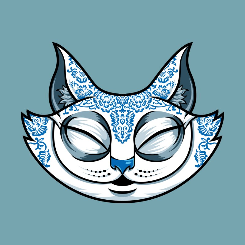 Cheshire Cat - Blue Women's T-Shirt by bennygraphix's Artist Shop