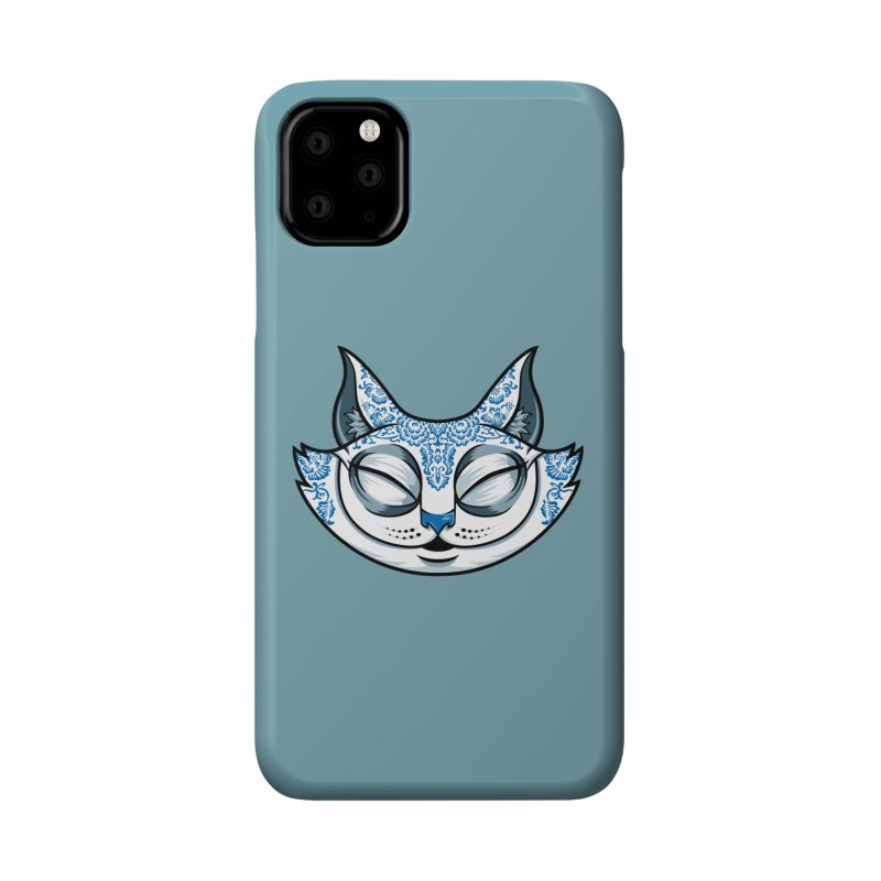 Cheshire Cat - Blue Accessories Phone Case by bennygraphix's Artist Shop