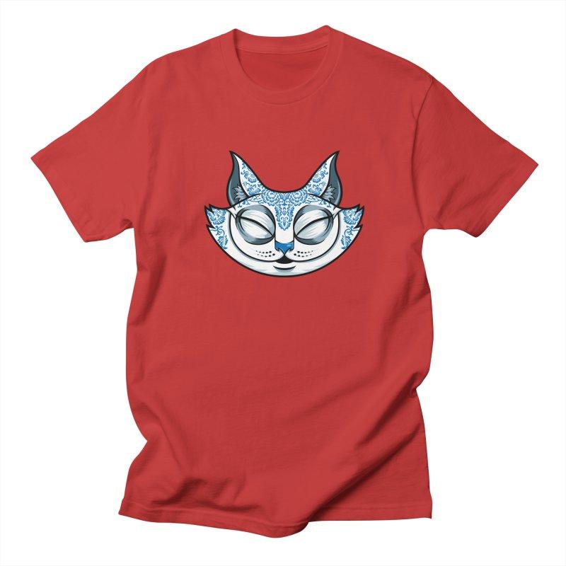 Cheshire Cat - Blue Women's Regular Unisex T-Shirt by bennygraphix's Artist Shop