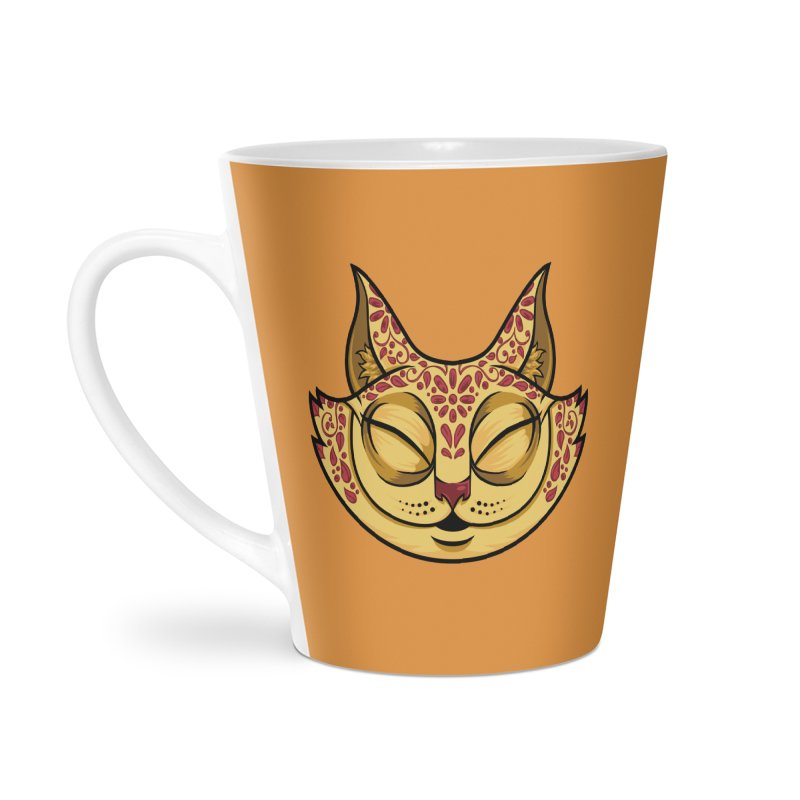 Cheshire Cat - Red Accessories Latte Mug by bennygraphix's Artist Shop