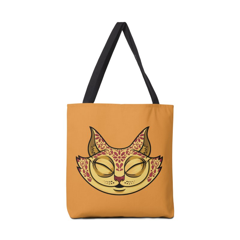 Cheshire Cat - Red Accessories Tote Bag Bag by bennygraphix's Artist Shop