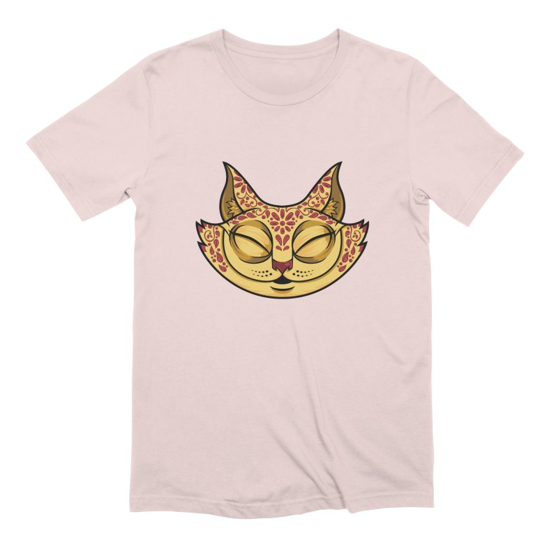 Cheshire Cat - Red Men's Extra Soft T-Shirt by bennygraphix's Artist Shop