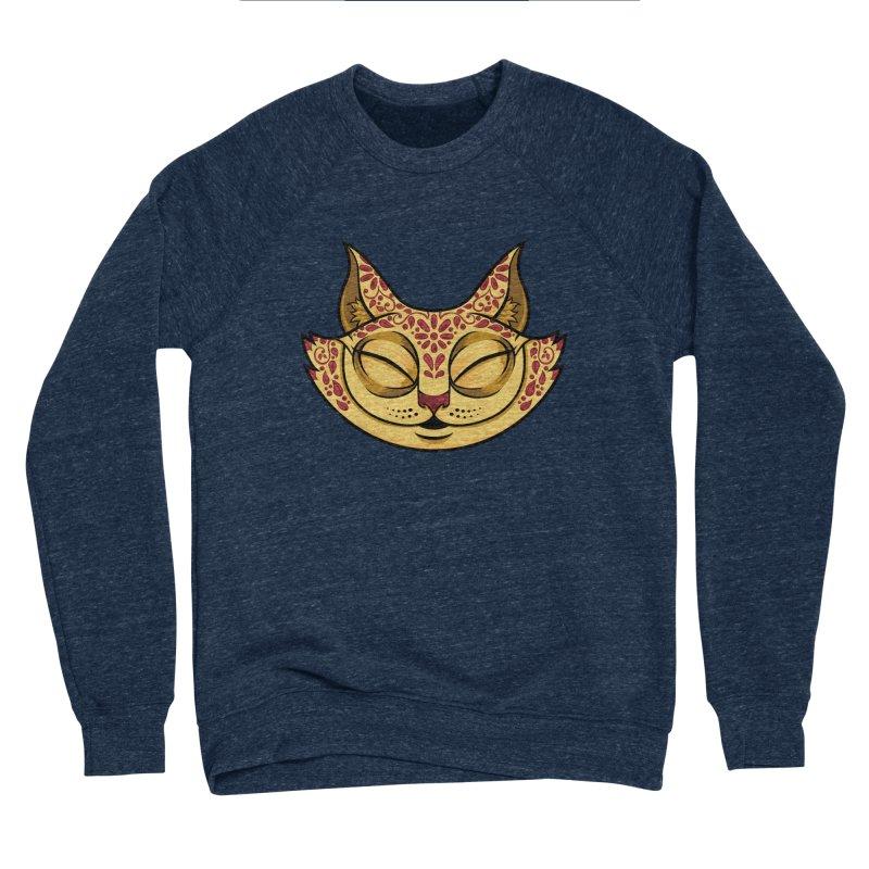 Cheshire Cat - Red Women's Sponge Fleece Sweatshirt by bennygraphix's Artist Shop
