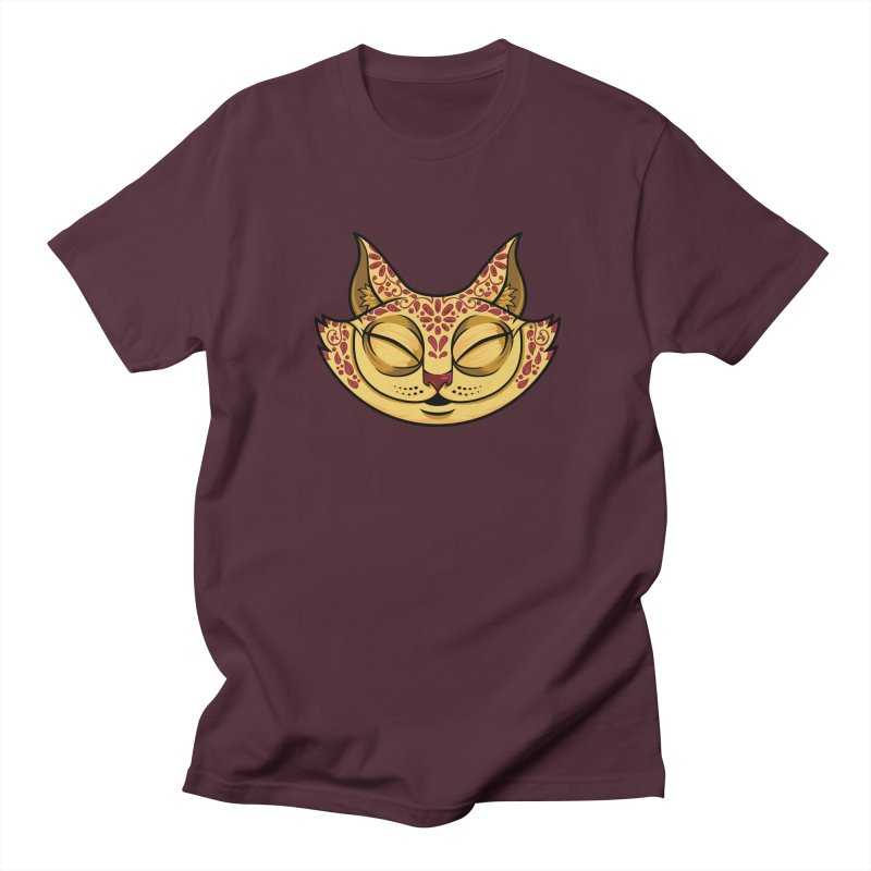Cheshire Cat - Red Women's Regular Unisex T-Shirt by bennygraphix's Artist Shop