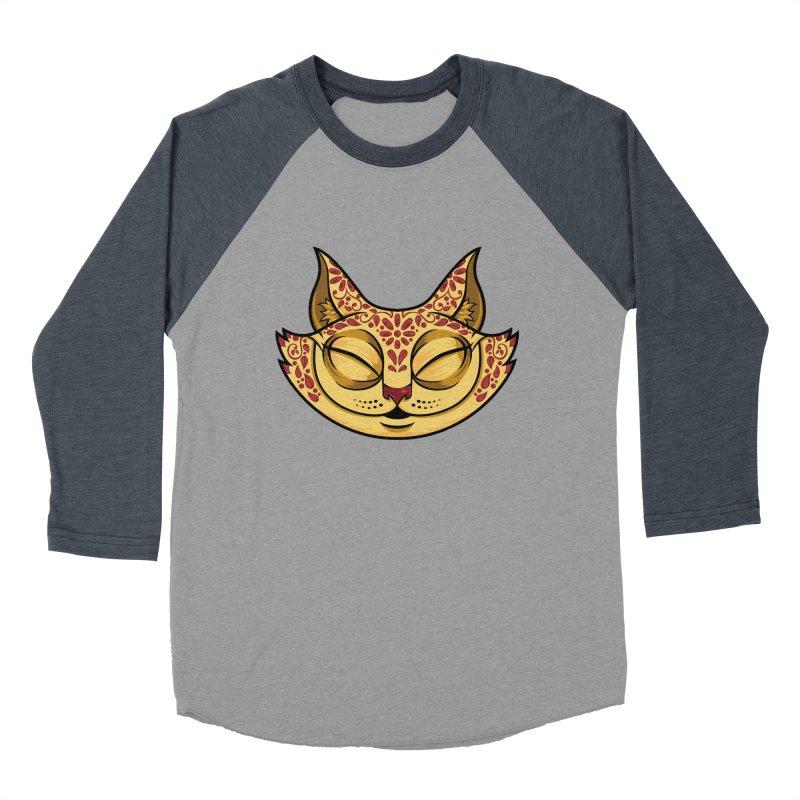 Cheshire Cat - Red Women's Baseball Triblend Longsleeve T-Shirt by bennygraphix's Artist Shop