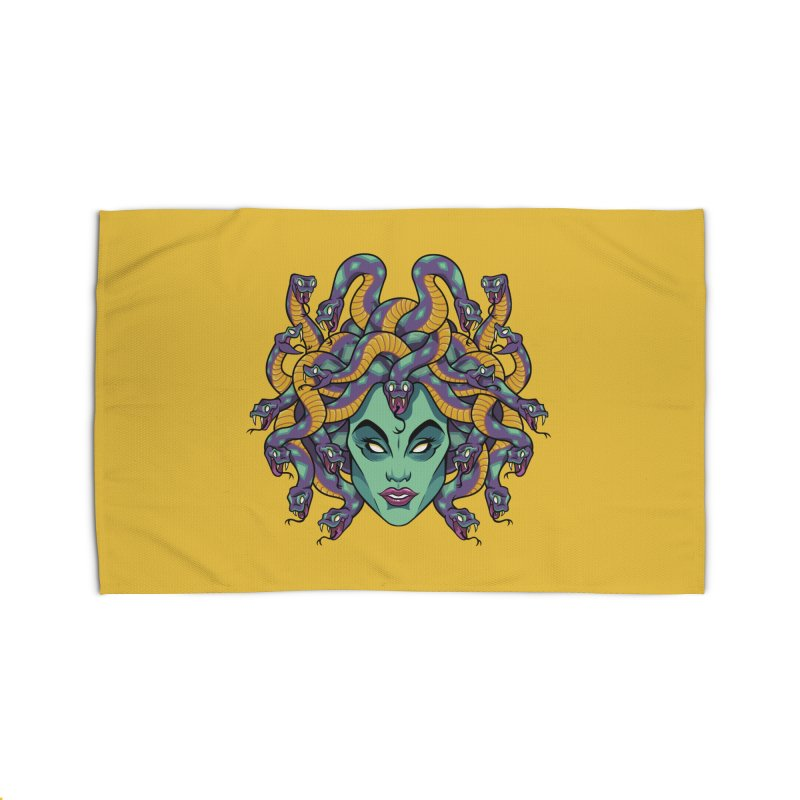 Medusa Home Rug by bennygraphix's Artist Shop