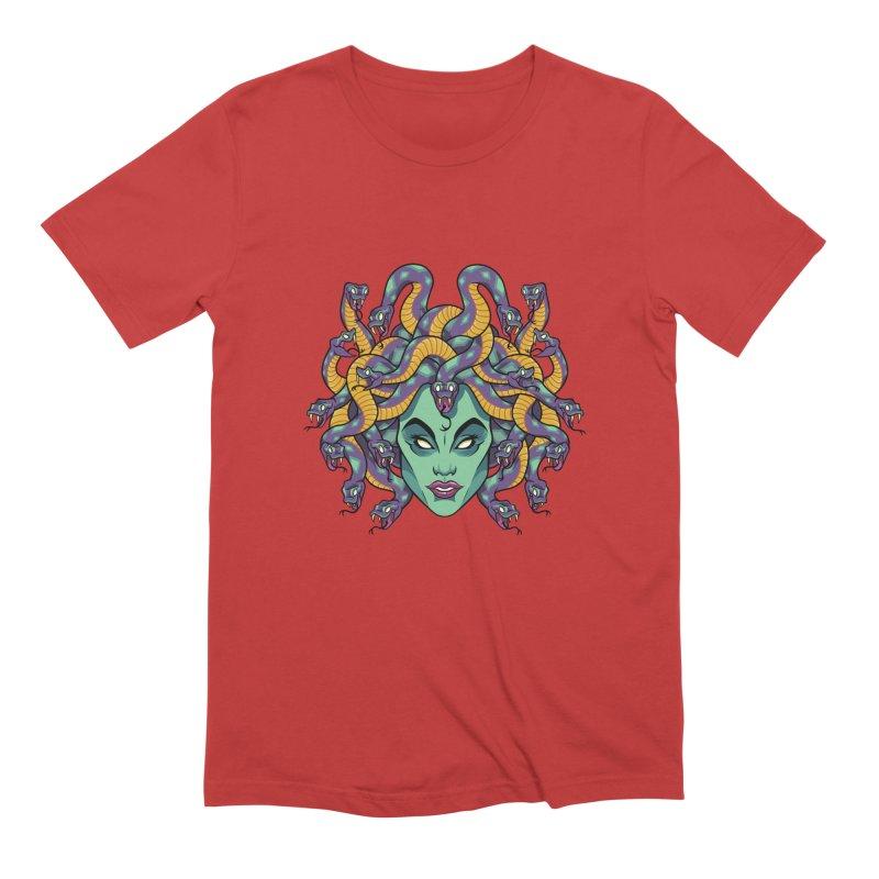 Medusa Men's Extra Soft T-Shirt by bennygraphix's Artist Shop