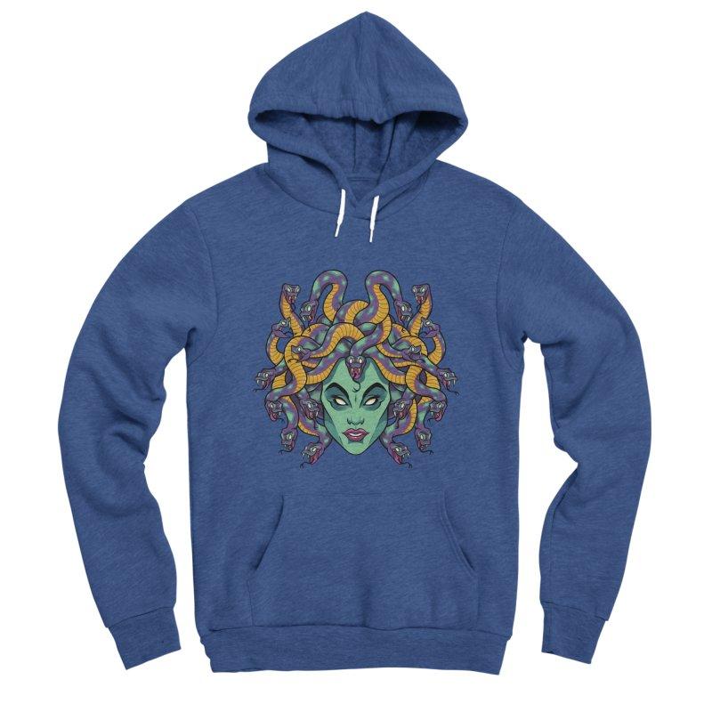 Medusa Women's Sponge Fleece Pullover Hoody by bennygraphix's Artist Shop