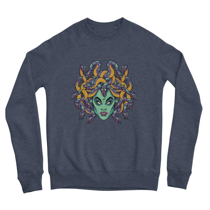 Medusa Women's Sponge Fleece Sweatshirt by bennygraphix's Artist Shop