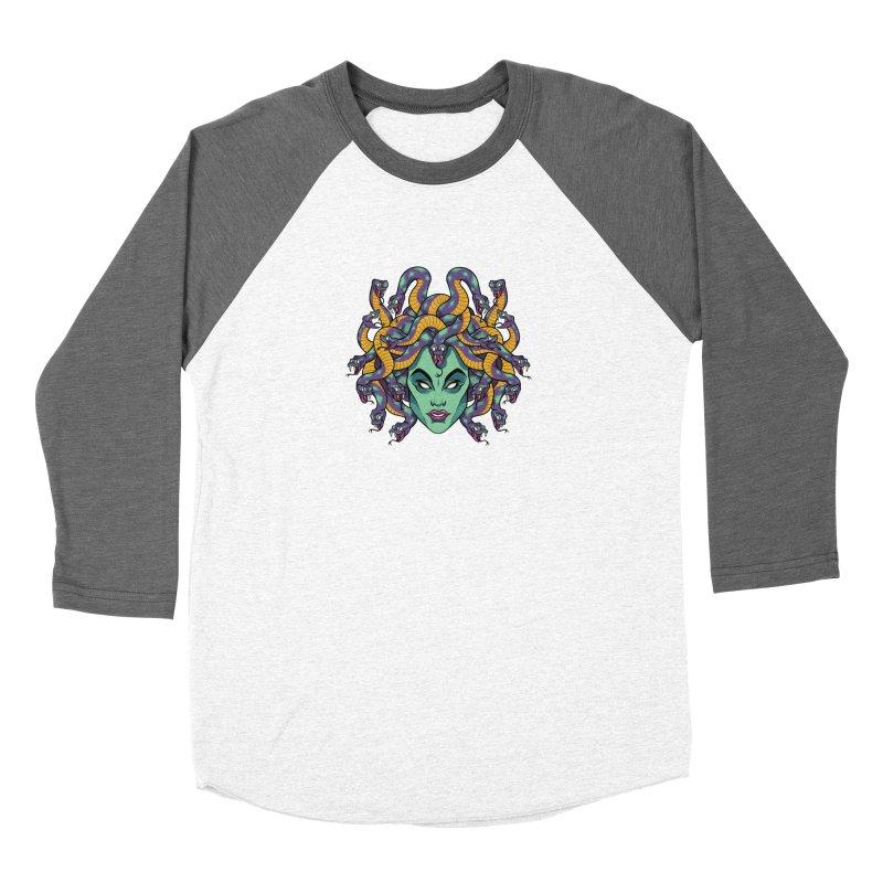 Medusa Women's Longsleeve T-Shirt by bennygraphix's Artist Shop