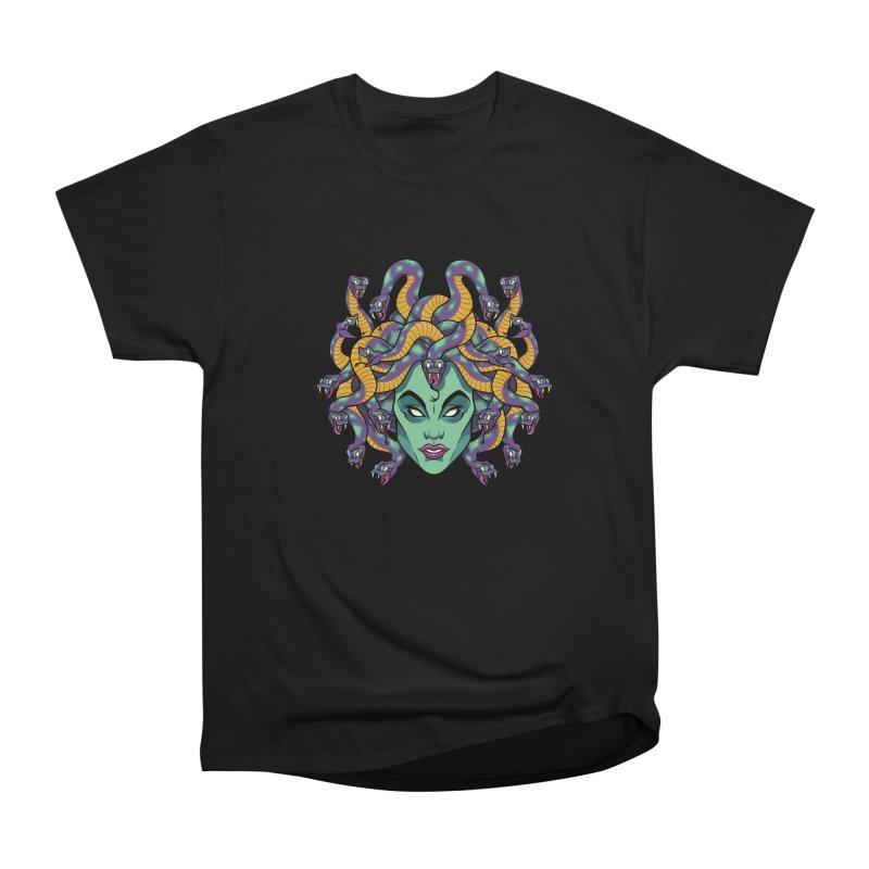 Medusa Men's Heavyweight T-Shirt by bennygraphix's Artist Shop