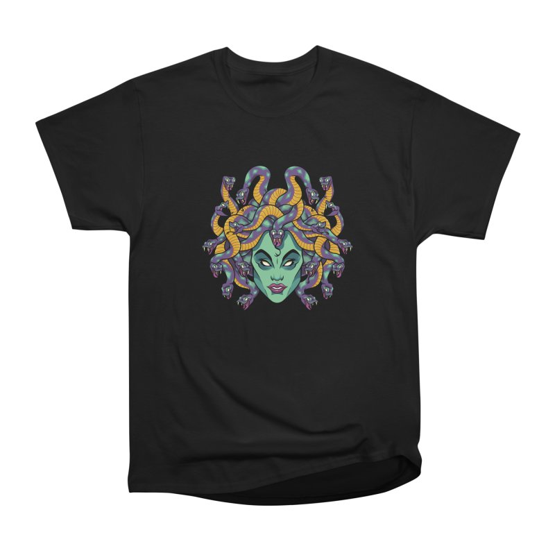 Medusa Women's Heavyweight Unisex T-Shirt by bennygraphix's Artist Shop