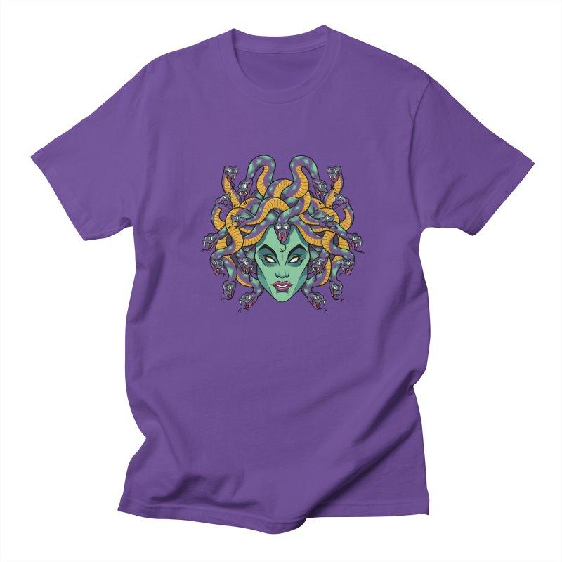 Medusa Men's Regular T-Shirt by bennygraphix's Artist Shop