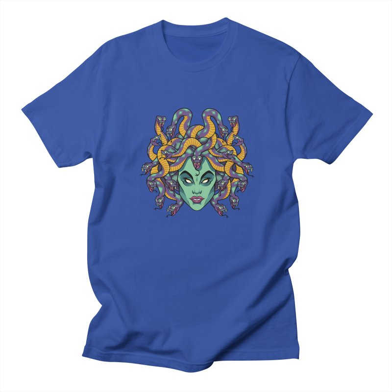 Medusa Women's Regular Unisex T-Shirt by bennygraphix's Artist Shop