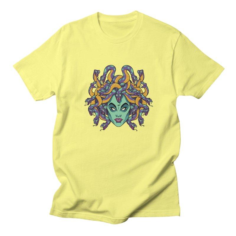 Medusa Women's Regular Unisex T-Shirt by bennygraphix's Artist Shop