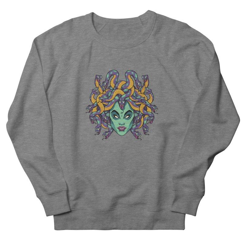 Medusa Men's French Terry Sweatshirt by bennygraphix's Artist Shop