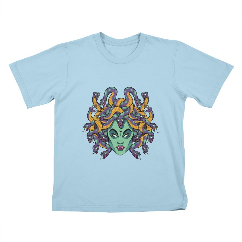 Medusa Kids T-Shirt by bennygraphix's Artist Shop