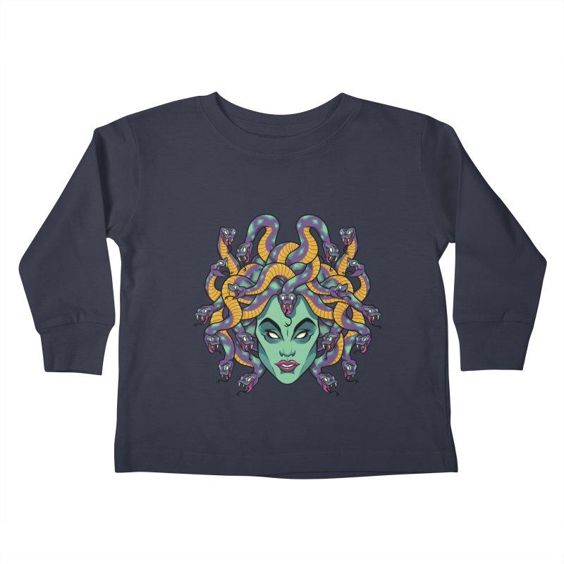Medusa Kids Toddler Longsleeve T-Shirt by bennygraphix's Artist Shop