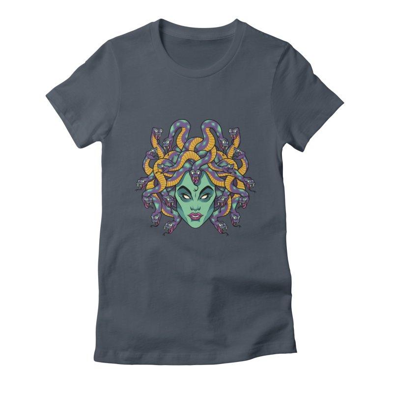 Medusa Women's T-Shirt by bennygraphix's Artist Shop