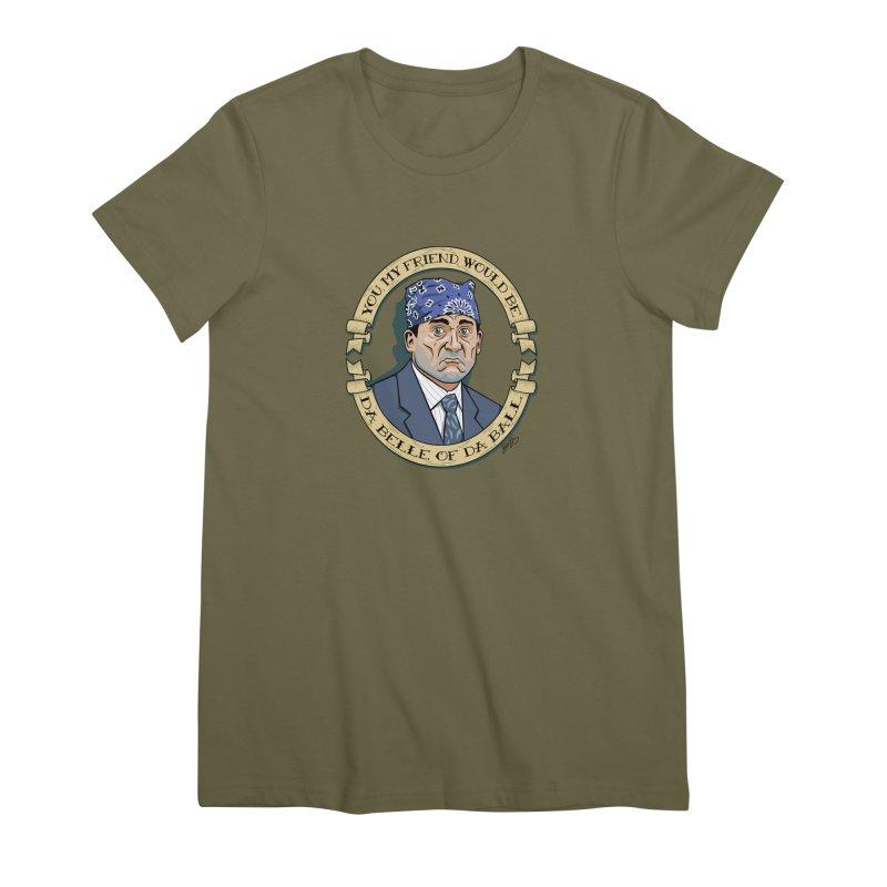 Prison Mike Women's Premium T-Shirt by bennygraphix's Artist Shop