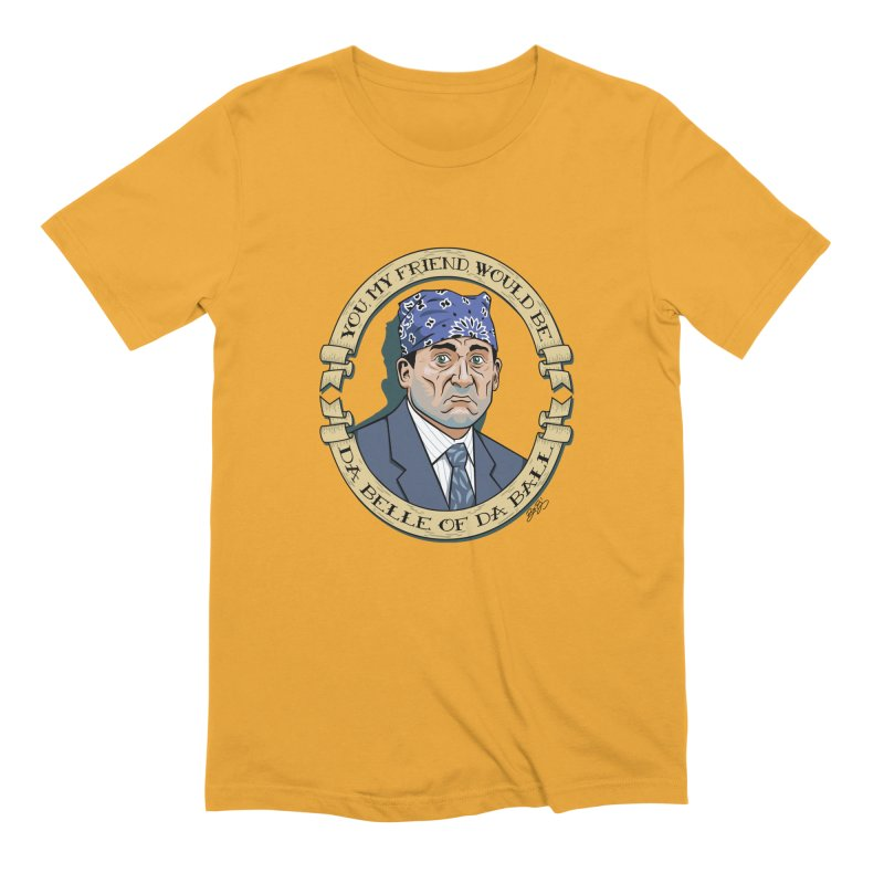 Prison Mike Men's Extra Soft T-Shirt by bennygraphix's Artist Shop