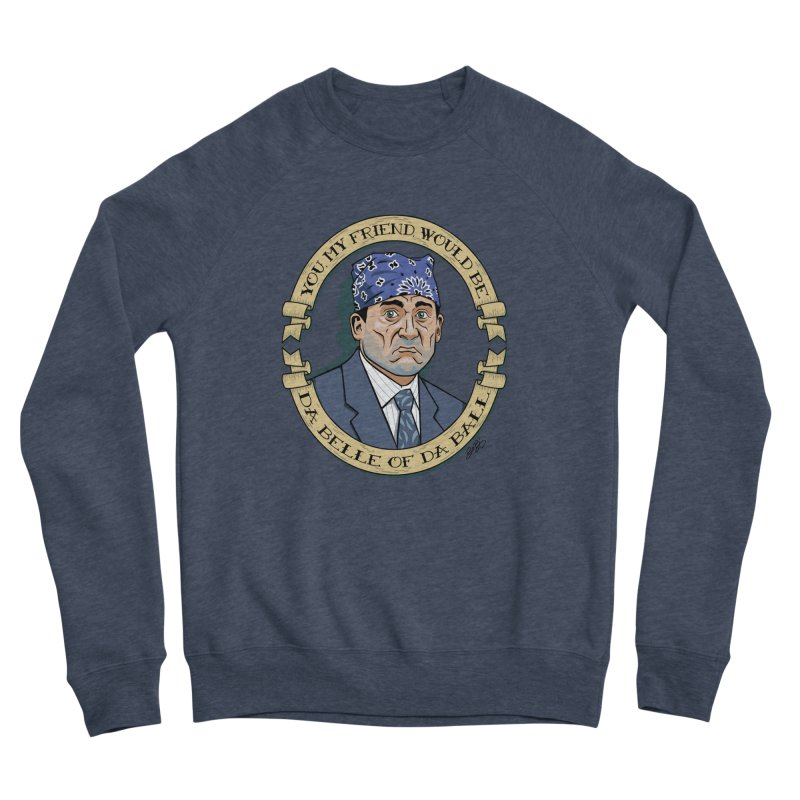 Prison Mike Men's Sponge Fleece Sweatshirt by bennygraphix's Artist Shop