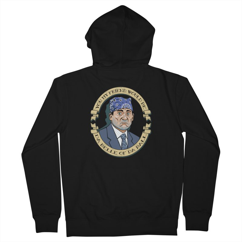 Prison Mike Women's French Terry Zip-Up Hoody by bennygraphix's Artist Shop