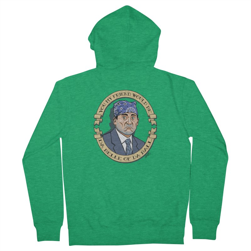 Prison Mike Men's French Terry Zip-Up Hoody by bennygraphix's Artist Shop