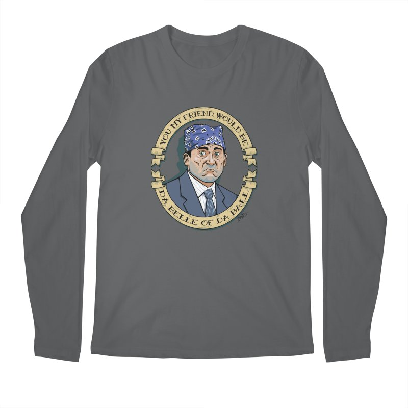 Prison Mike Men's Regular Longsleeve T-Shirt by bennygraphix's Artist Shop