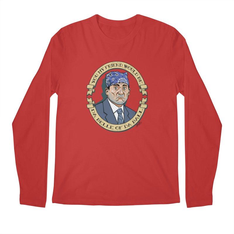 Prison Mike Men's Regular Longsleeve T-Shirt by bennygraphix's Artist Shop