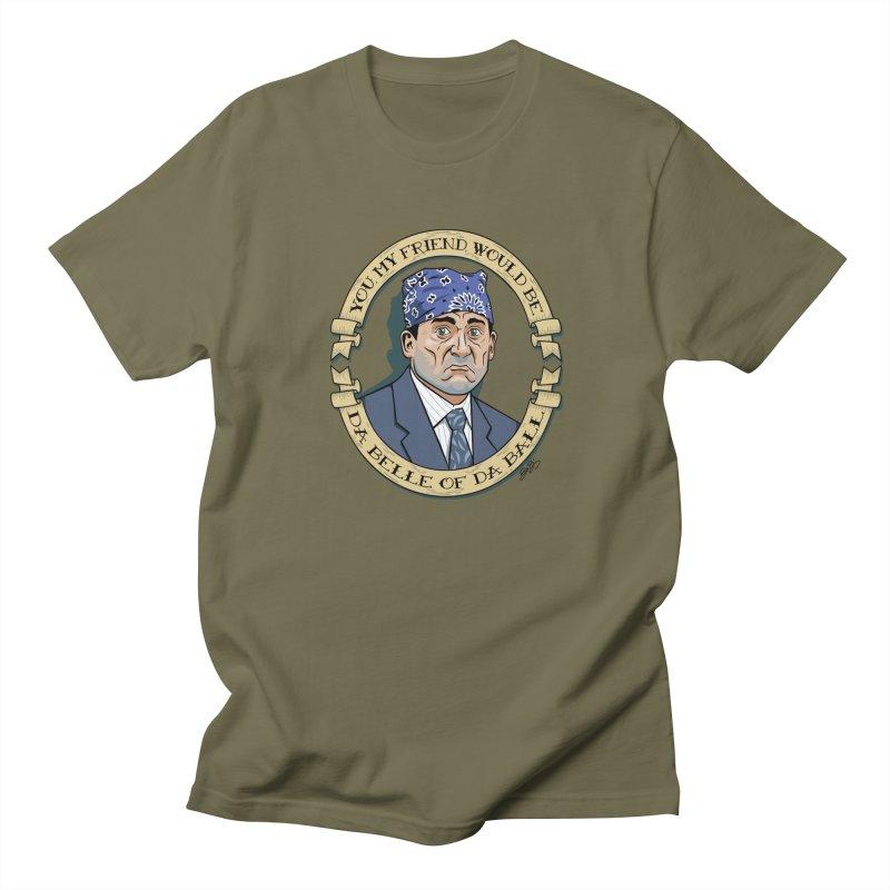 Prison Mike Men's Regular T-Shirt by bennygraphix's Artist Shop