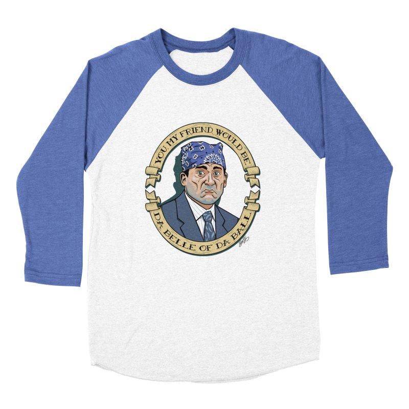 Prison Mike Women's Baseball Triblend Longsleeve T-Shirt by bennygraphix's Artist Shop