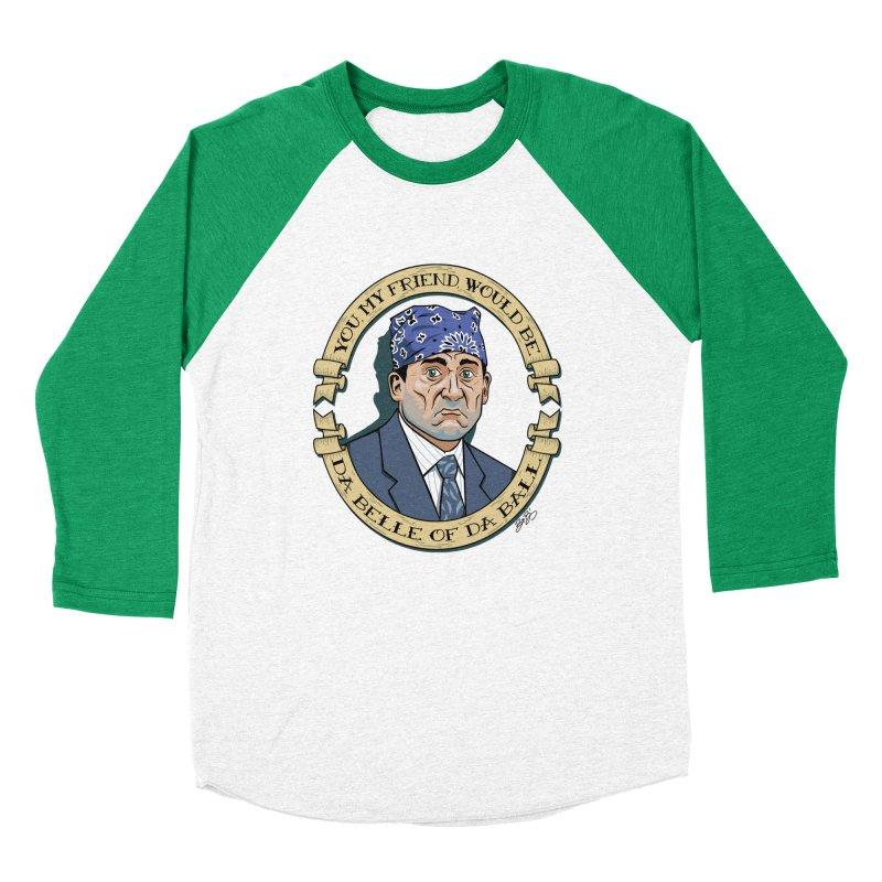 Prison Mike Men's Baseball Triblend Longsleeve T-Shirt by bennygraphix's Artist Shop
