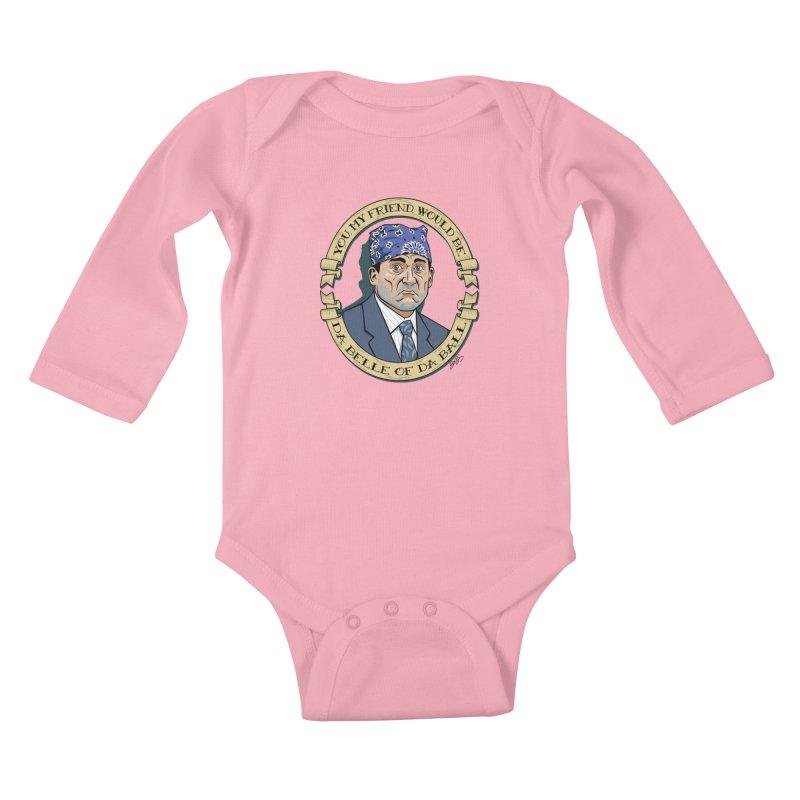 Prison Mike Kids Baby Longsleeve Bodysuit by bennygraphix's Artist Shop