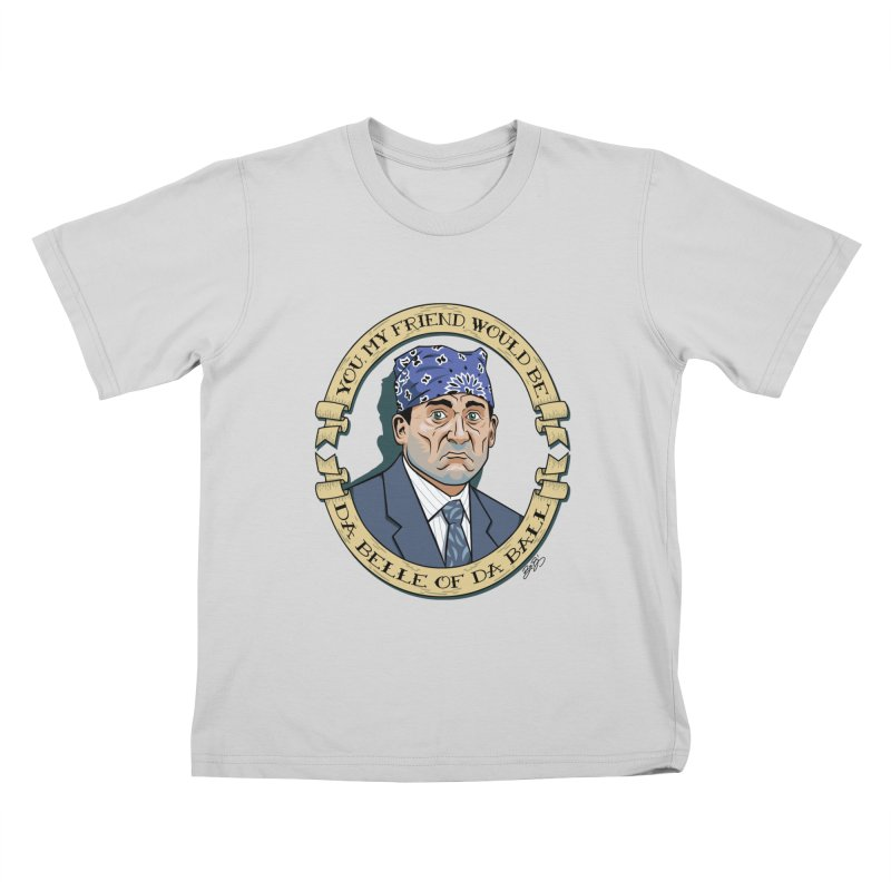 Prison Mike Kids T-Shirt by bennygraphix's Artist Shop