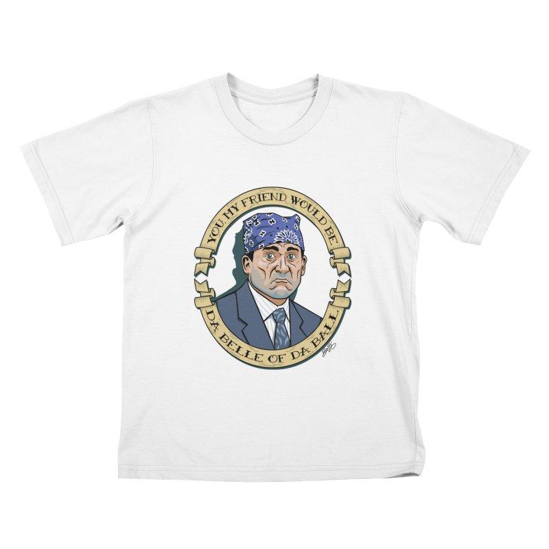 Prison Mike Kids T-Shirt by bennygraphix's Artist Shop