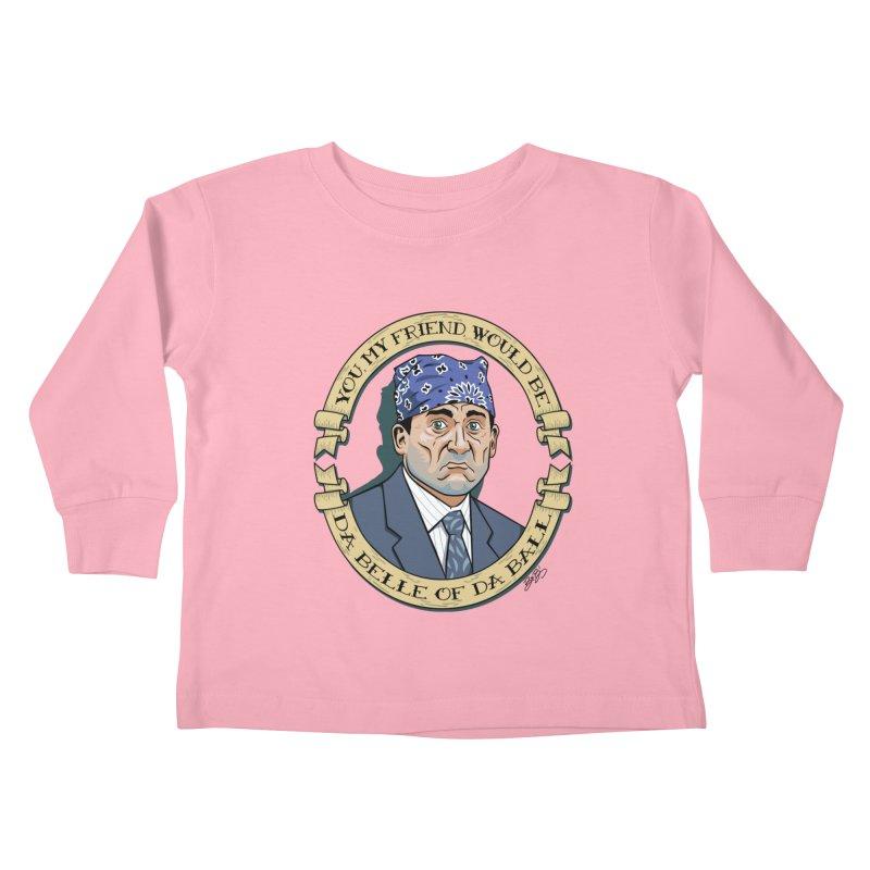 Prison Mike Kids Toddler Longsleeve T-Shirt by bennygraphix's Artist Shop