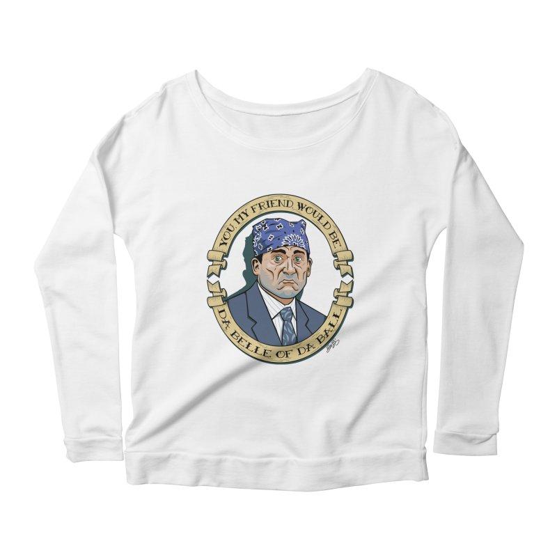 Prison Mike Women's Scoop Neck Longsleeve T-Shirt by bennygraphix's Artist Shop