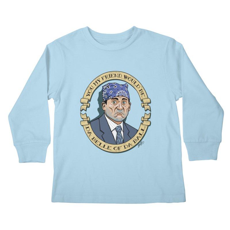 Prison Mike Kids Longsleeve T-Shirt by bennygraphix's Artist Shop