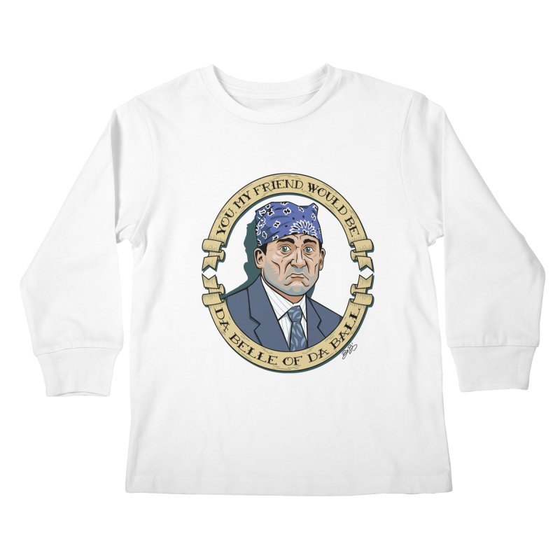 Prison Mike Kids Longsleeve T-Shirt by bennygraphix's Artist Shop