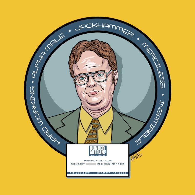 Dwight by bennygraphix's Artist Shop