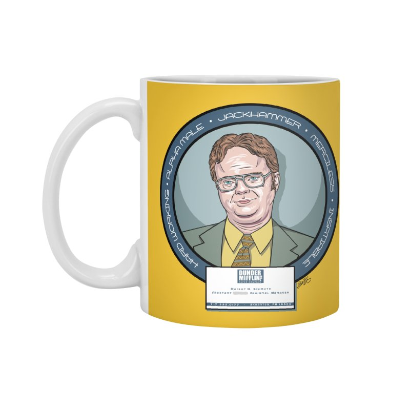 Dwight Accessories Mug by bennygraphix's Artist Shop