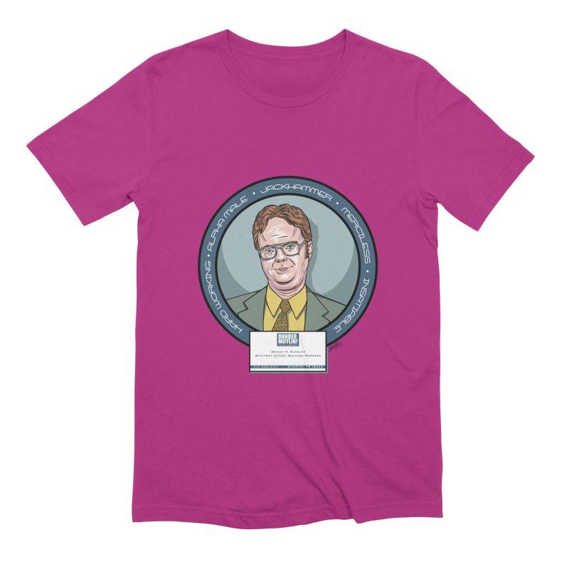 Dwight Men's Extra Soft T-Shirt by bennygraphix's Artist Shop